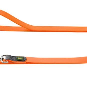 Hunter Training leash neopren oransje