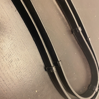 Arctic Tack - Lærtøyler svart (5 stoppere) - 16mm