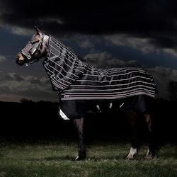 Horseware Amigo Bravo 12 Reflectech Plus, utedekken med avtakbar hals, 250 gram