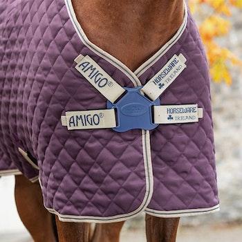 Horseware Amigo Stable Plus Disc, stalldekken med avtakbar hals, 200 gram