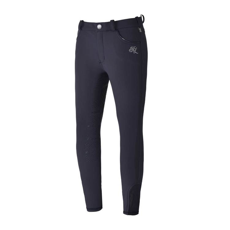 KINGSLAND KASMIRA GIRL E-TEC4 F-GRIP BREECHES - NAVY - JUNIOR
