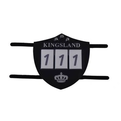 KINGSLAND ILAR NUMBER PLATE FOR BRIDLE