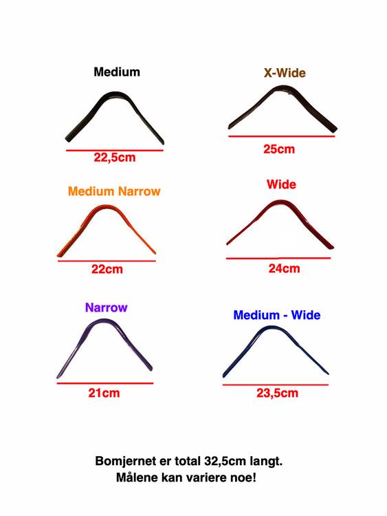 Bomjern målesystem til Prem Equine saler