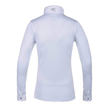 KINGSLAND INA LADIES LS SHOW SHIRT (white)