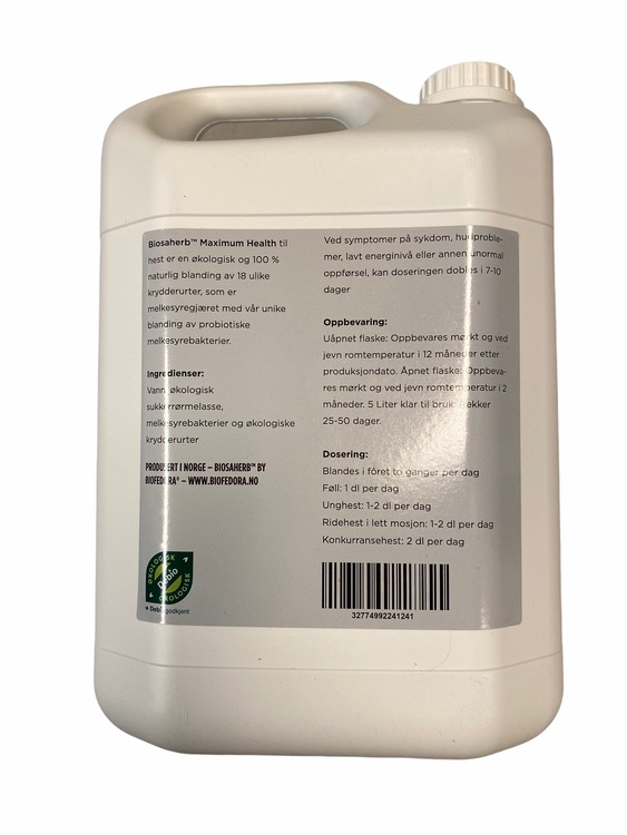 BIOSAHERB™ MAXIMUM HEALTH (5 liter)