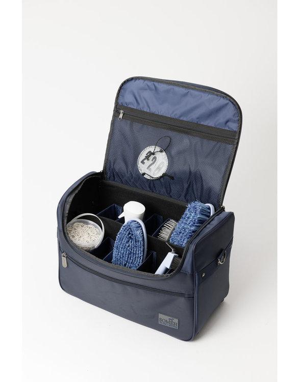 SOMÈH Grooming-/Tournament Bag CLASSIC/Equestrian Blue