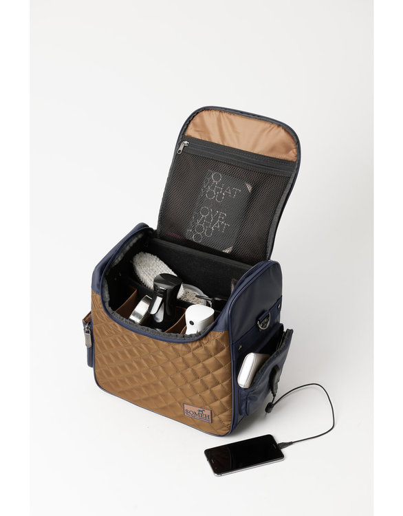 SOMÈH Grooming-/Tournament Bag CONNECT/Grace Gold