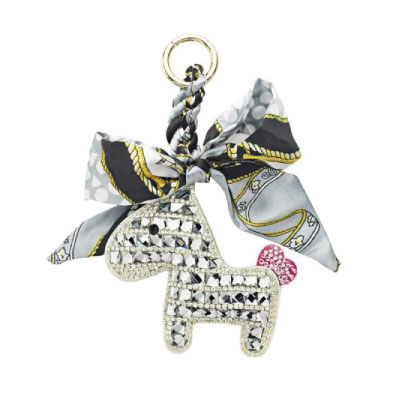 Someh Crystal Pony Key Ring (Keychain)