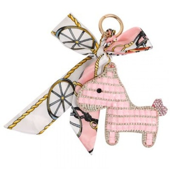 Someh Crystal Pony Key Ring (Keychain)