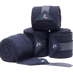 Horse Polo Fleece Bandages - NAVY