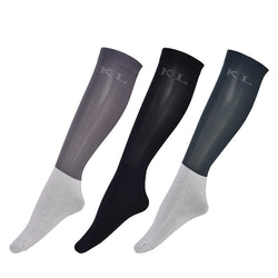 KINGSLAND CAROLINA UNISEX SHOW SOCKS 3-PACK