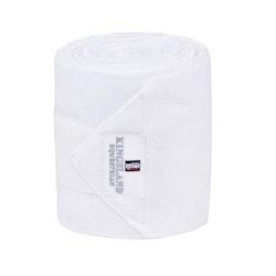 KINGSLAND CLASSIC FLEECE BANDAGES FL 2 PACK (WHITE)