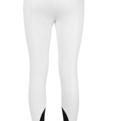 RIDING BREECHES EQUILINE BICE WITH GEL GRIP WOMEN WHITE