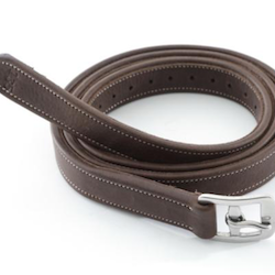 German Aniline Stirrup Leathers - BRUN