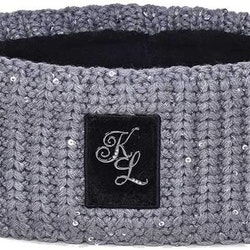 Kingsland Dolly Ladies Knitted Headband Dark grey