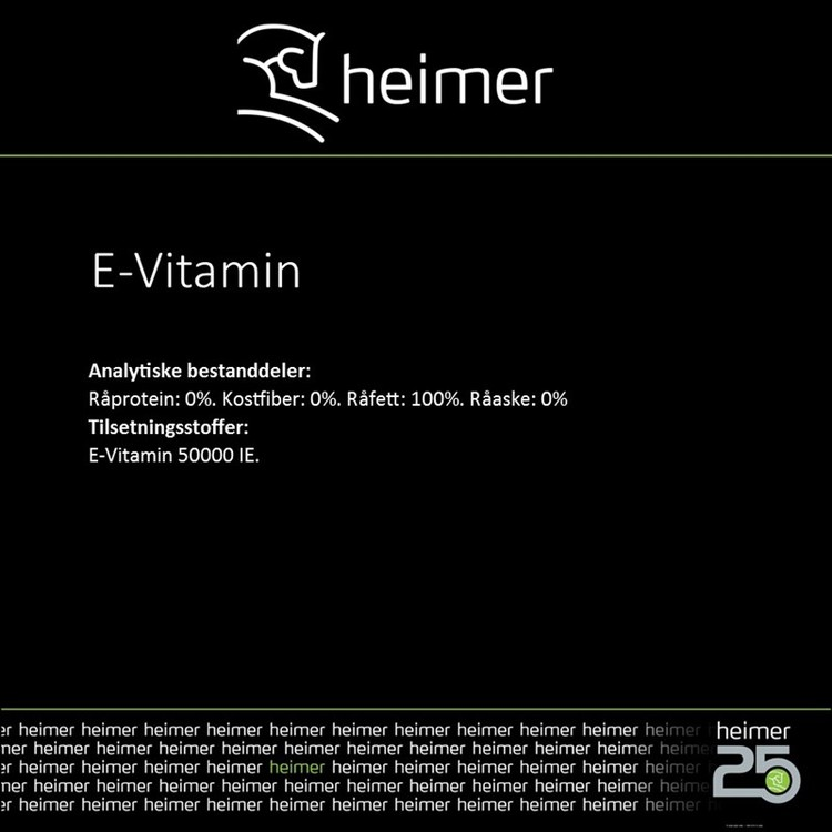 Heimer E-Vitamin 1000 ml
