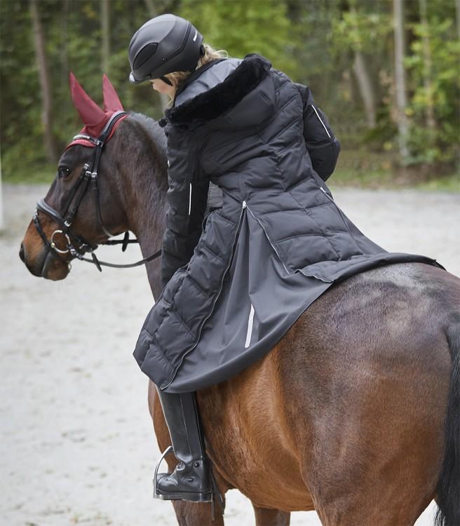 Saphira Riding Coat Black from Waldhausen