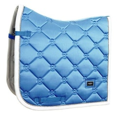DRESSAGE SADDLE PAD PARISIAN BLUE - EQUESTRIAN STOCKHOLM