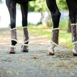 Hoof Protection Boots Champagne - Equestrian Stockholm