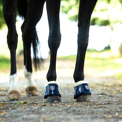 Hoof Protection Boots Navy - Equestrian Stockholm