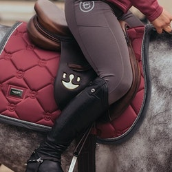 TIGHTS DRESSAGE MOCCA - Equestrian Stockholm