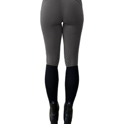 TIGHTS JUMP GREY - Equestrian Stockholm