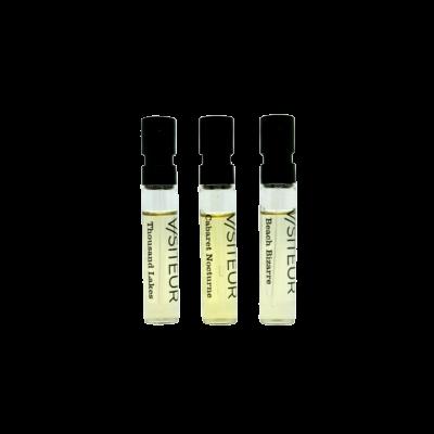 Visiteur 3*2 ml Sample-set Parfum EdP