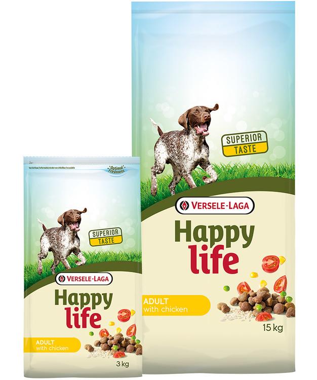 Happy Life - Adult med Kyckling