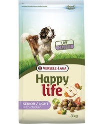 Happy Life - Senior / Light med Kyckling