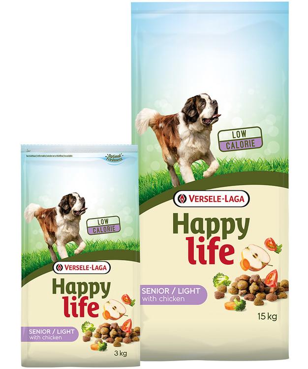 Happy Life - Senior / Light med Kyckling