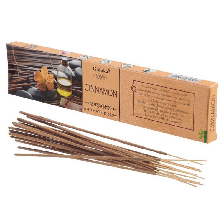 """Goloka - """"Aromatherapy Kanel"""" - Stickor"""