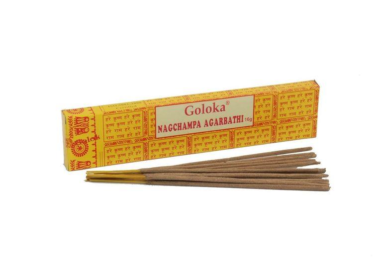 """Goloka - """"Nag Champa Agarbathi"""" Stickor"""