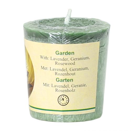Rättvisemärkta doftljus - Trädgård