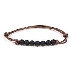 Armband - Obsidian
