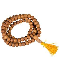 Mala 108 pärlor - sandelträd