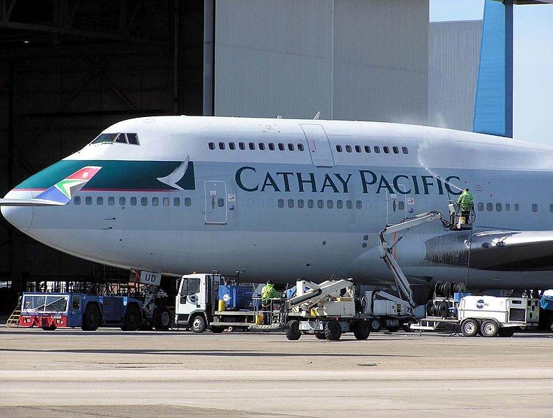 Ny order på Flygklossar till Cathay Pacific