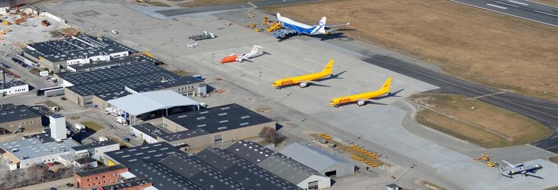 Nya ordrar till Billunds flygplats, Cargo Center