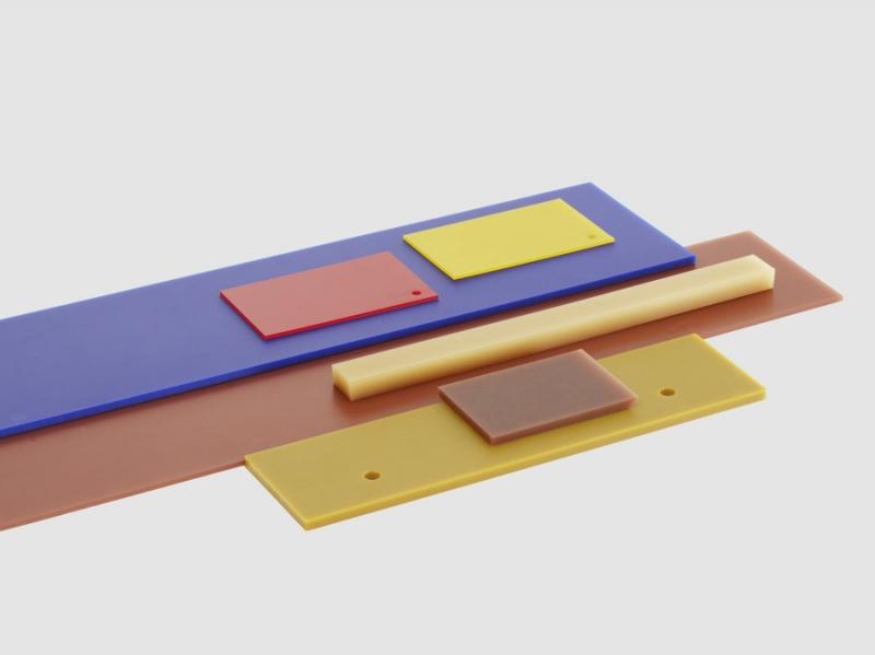 Polyuretanplatta universal finns i olika hårdheter och mått