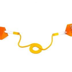 Mark 2 Ice Twin chock with rope