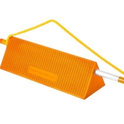 Mark 3 widebody ICE chock handel & rope