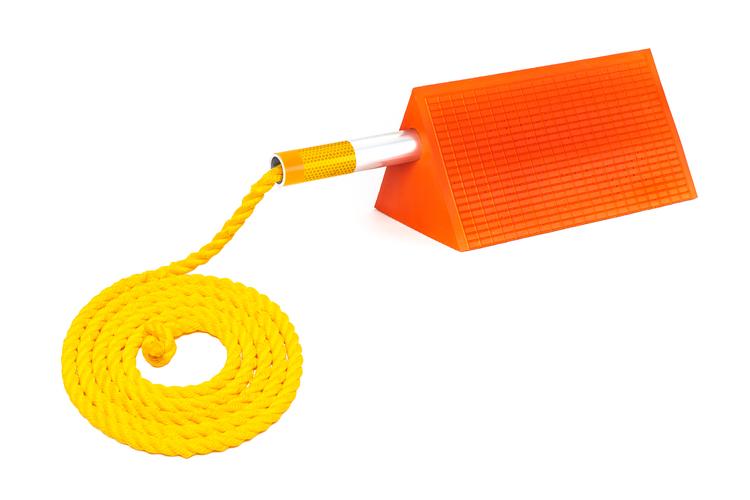Mark 2 chock Ice handel & rope