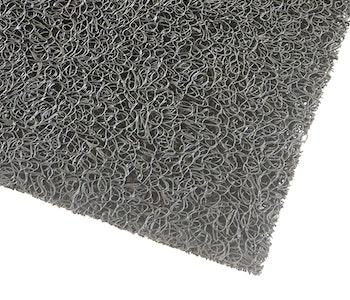 Entrématta Spaghetti Dränerande grå i vinyl tät eller dränerande