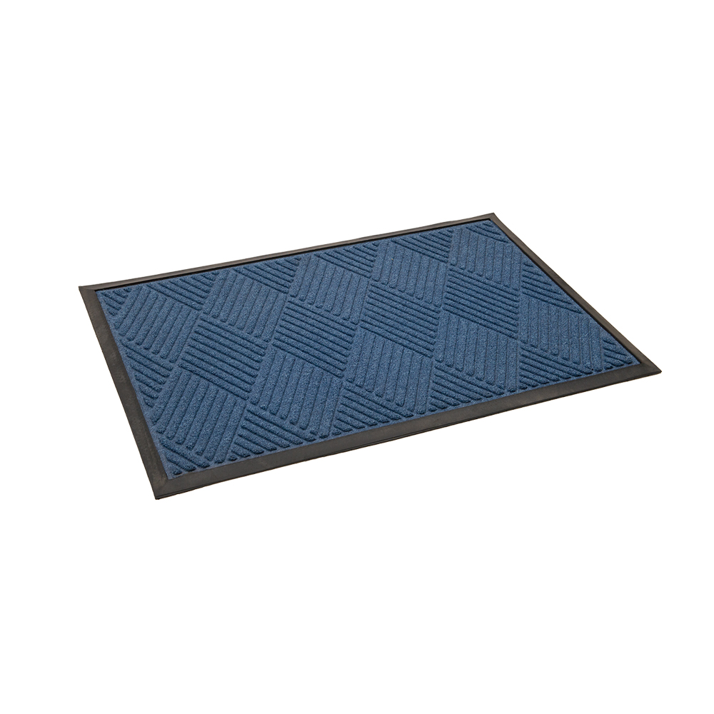 Entrématta Diamond Antracitgrå / Blå olika storlekar