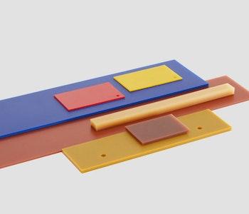 Polyuretan plattor 5x370×1800 90 shore A