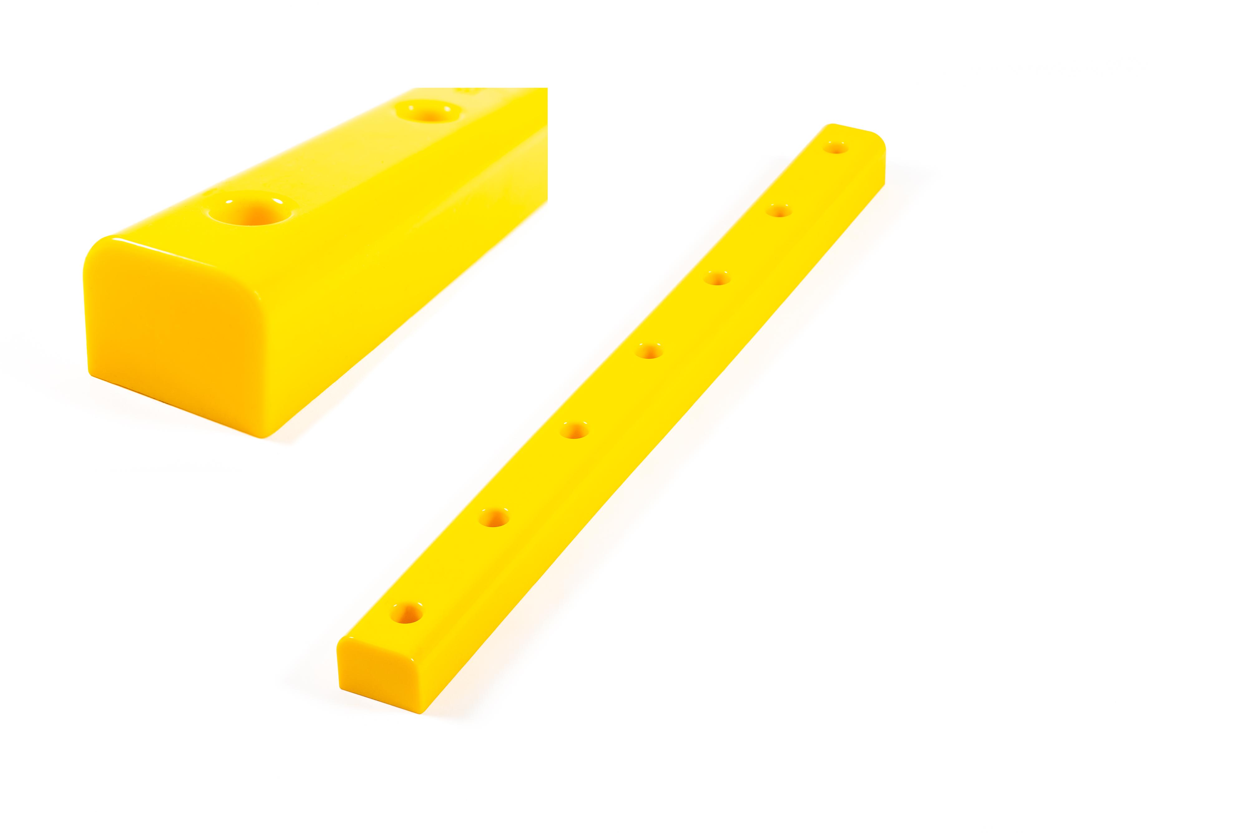 Pur-fender i solid polyuretan 60x1000mm