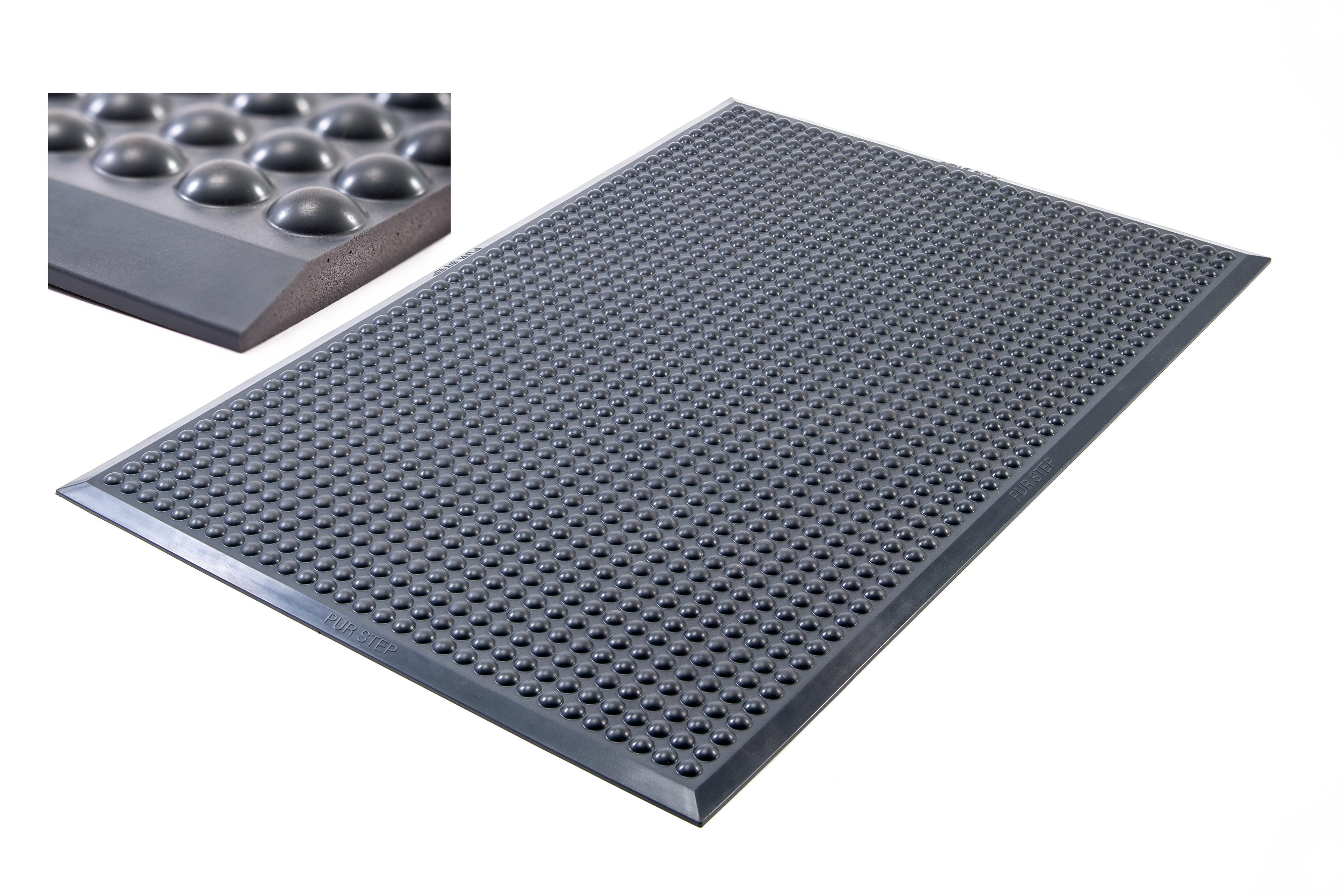 Pur-step mörkgrå arbetsmatta för ståbord