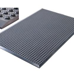 Pur-step mörkgrå arbetsmatta för Ergonomiskt ståbord