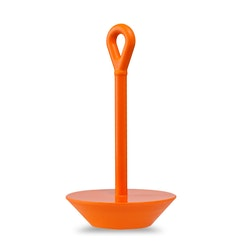 Softdish ankare i mjuk solid polyuretan Orange