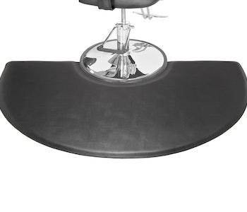 Soft-step frisör Halvcirkel ergonomisk ståmatta