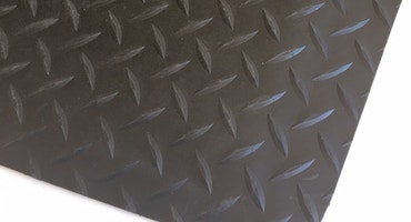 Trax Step Slitstark arbetsplatsmatta med durkmönster olika färger, storlekar